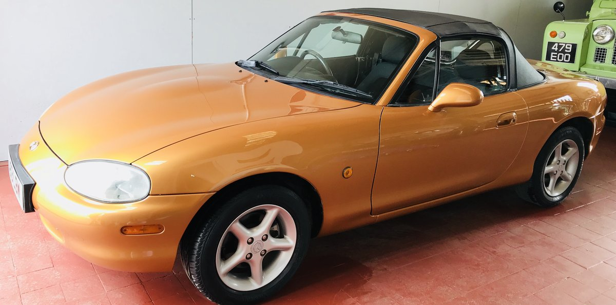 1998 Immaculate Mazda MX5 For Sale (picture 2 of 6)