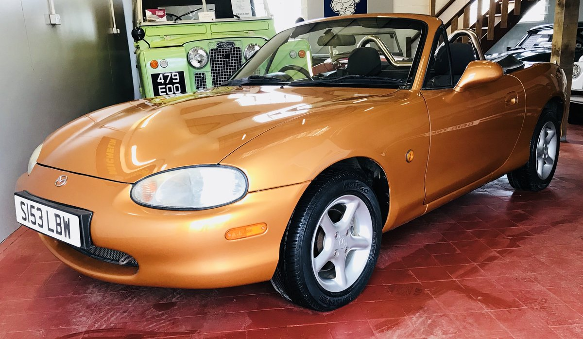 1998 Immaculate Mazda MX5 For Sale (picture 6 of 6)
