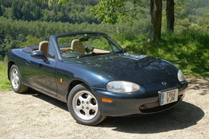 1999 Superb MX5 1.8i VS Roadster Auto FSH Leather/Wood For Sale