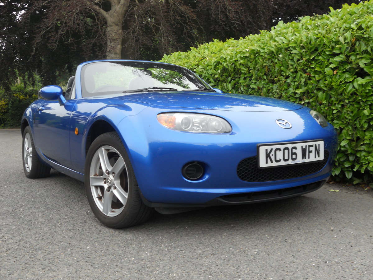 2006 Mazda MX-5 MK3 1.8 Convertible Winning Blue SOLD (picture 1 of 6)