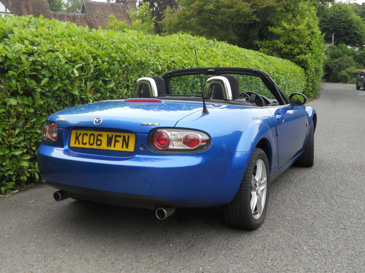 2006 Mazda MX-5 MK3 1.8 Convertible Winning Blue SOLD (picture 2 of 6)