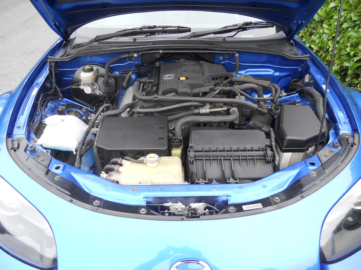 2006 Mazda MX-5 MK3 1.8 Convertible Winning Blue SOLD (picture 3 of 6)