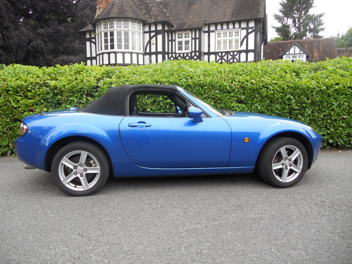 2006 Mazda MX-5 MK3 1.8 Convertible Winning Blue SOLD (picture 5 of 6)