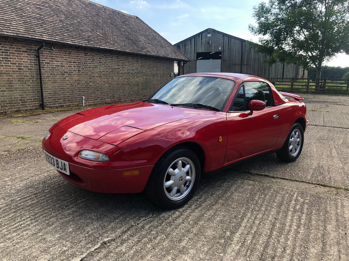 1992 Mazda MX5 Eunos Roadster Original Example For Sale (picture 4 of 6)
