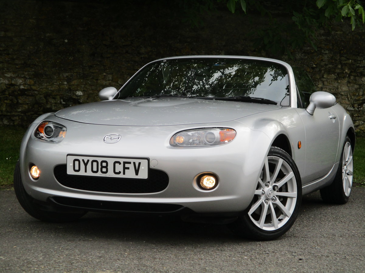2008 Exceptional low mileage 1 Owner MX5 Sport. MX5 SPECIALISTS For Sale (picture 2 of 6)
