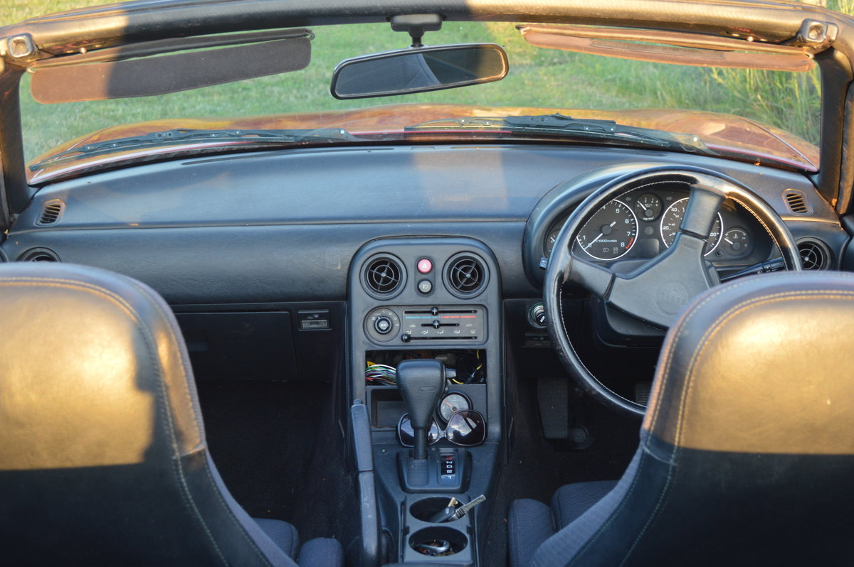 1991 Mazda MX5 Eunos Roadster Automatic For Sale (picture 6 of 6)