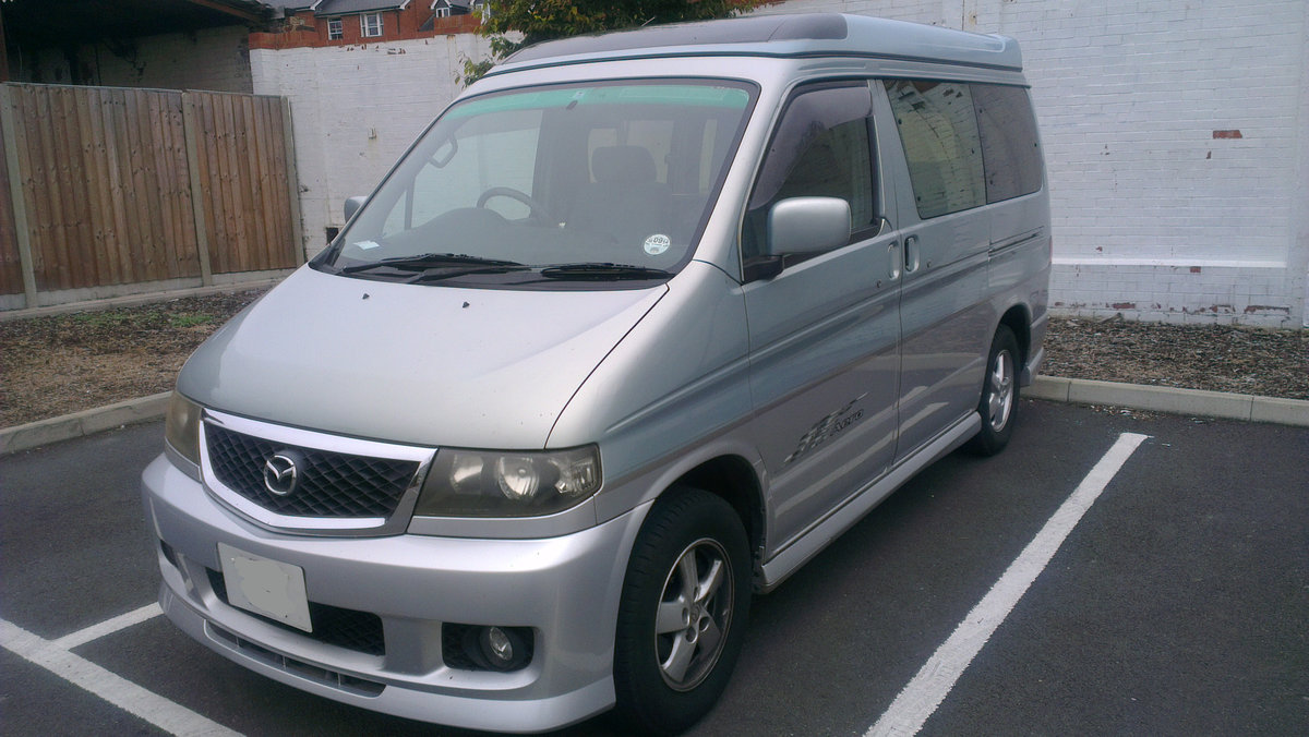 2001 Mazda Bongo Aero 2.5L V6 Petrol + LPG For Sale (picture 2 of 6)