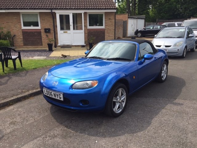 2006 Mazda MX-5 Soft-top For Sale (picture 1 of 5)