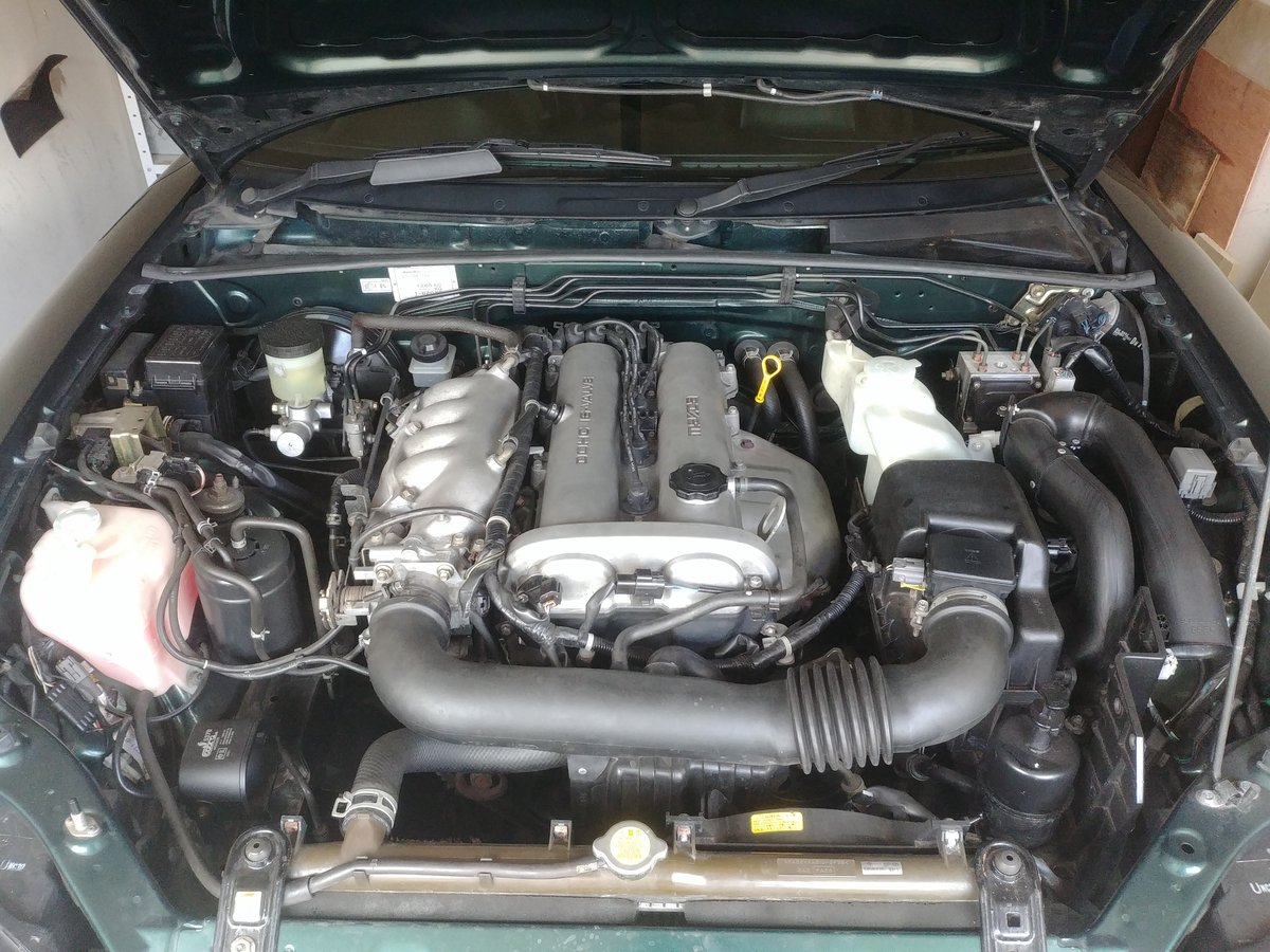 MX-5 Mk2 1.8 iS 5 Speed Manual LSD ABS Green 2000 SOLD (picture 5 of 6)