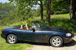 1999 Superb MX5 1.8i VS Roadster Automatic FSH 59,000mi For Sale