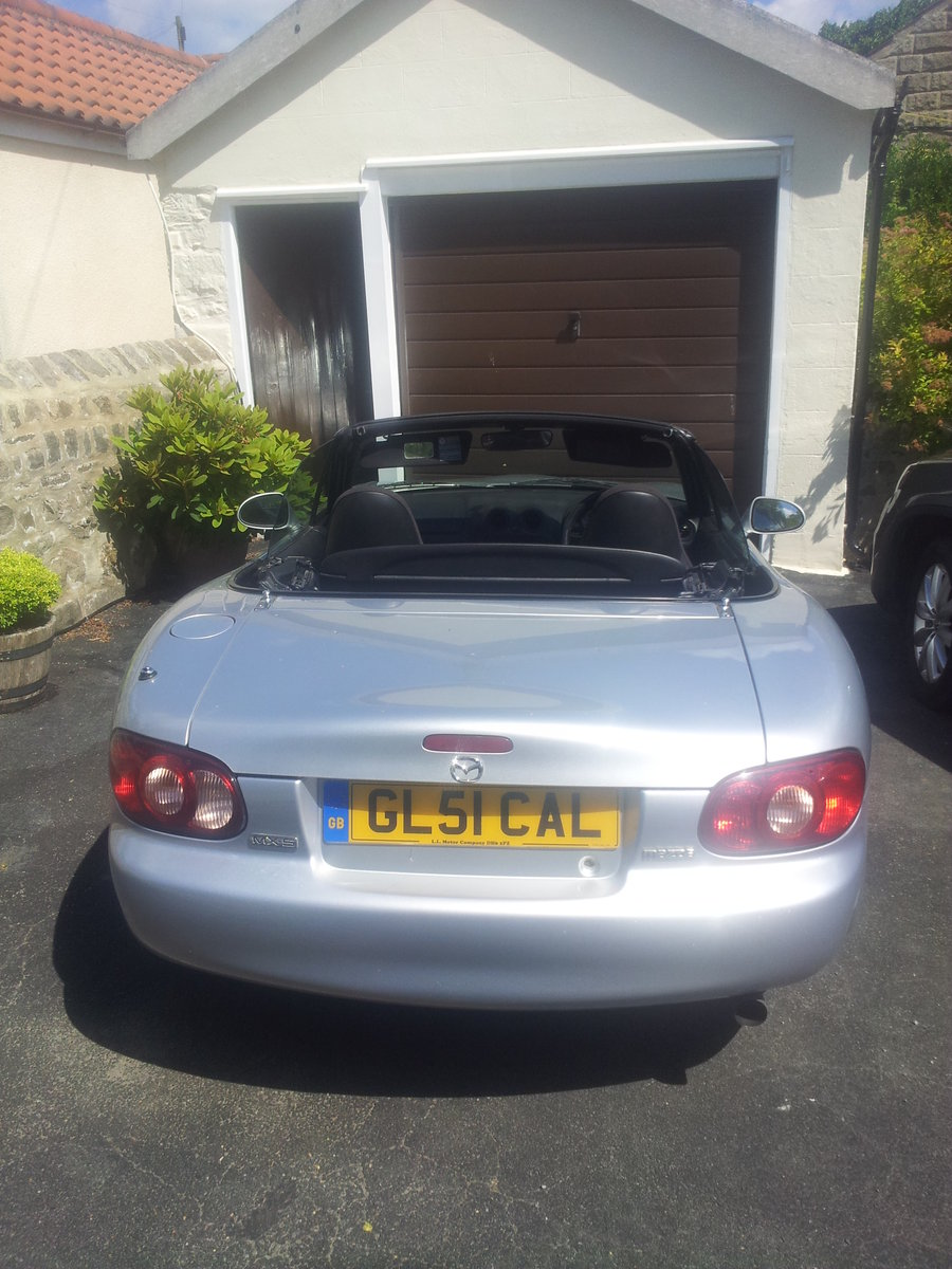 MX5 1.8 2003 plate GL51CAL very low miliage SOLD (picture 1 of 5)