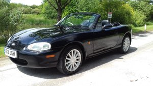 2000 MAZDA MX-5 1.8 'CONRAN-BLACK' ~ LTD EDN 297/400 MADE JASPER