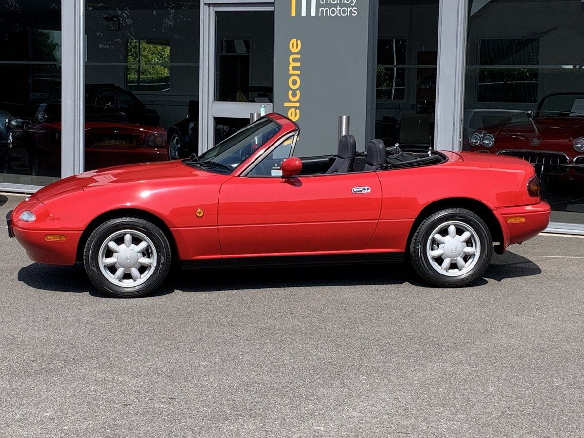 1993 Mazda MX5 1.6 pop up headlights For Sale (picture 2 of 6)