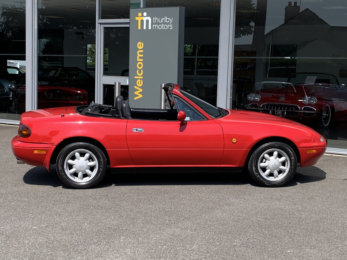 1993 Mazda MX5 1.6 pop up headlights For Sale (picture 5 of 6)