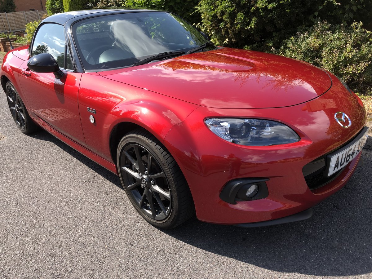 2014 held on deposit     MX5 25TH ANIVERSARY EDITION For Sale (picture 1 of 6)