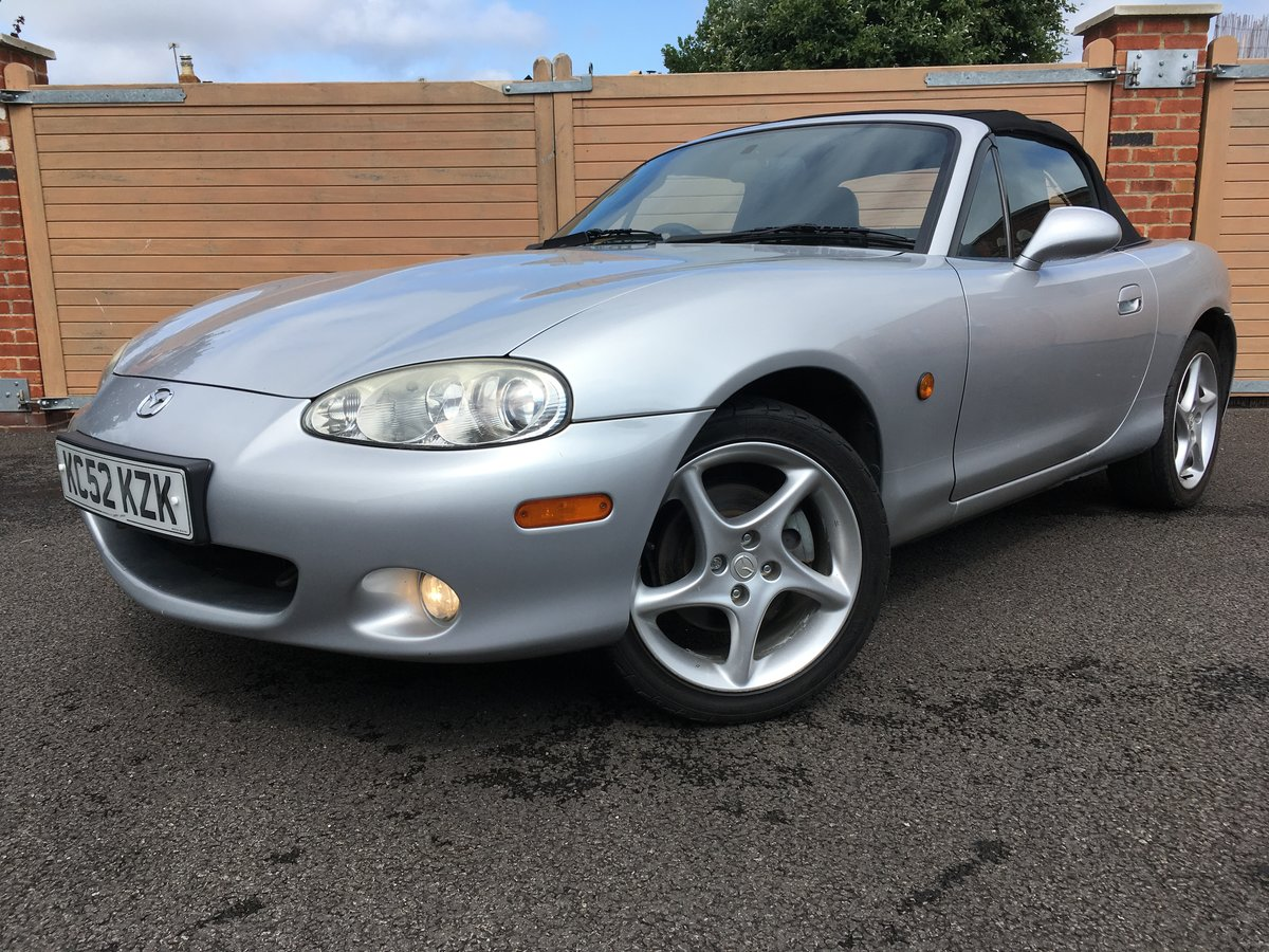 2004 Mazda mx5 1.8 s-vt 6 speed *31,000 miles* For Sale (picture 1 of 6)