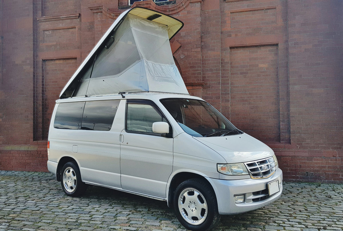 1999 MAZDA BONGO FORD FREDA FREETOP 2.5 * 8 SEATER CAMPER VAN * For Sale (picture 1 of 6)
