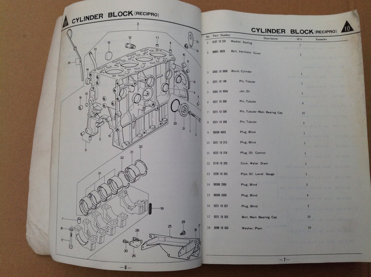 Mazda RX2 & 616 Parts Catalogue For Sale (picture 3 of 6)