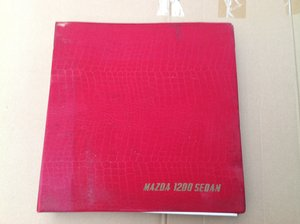 Mazda 1200 Saloon Parts Catalogue For Sale