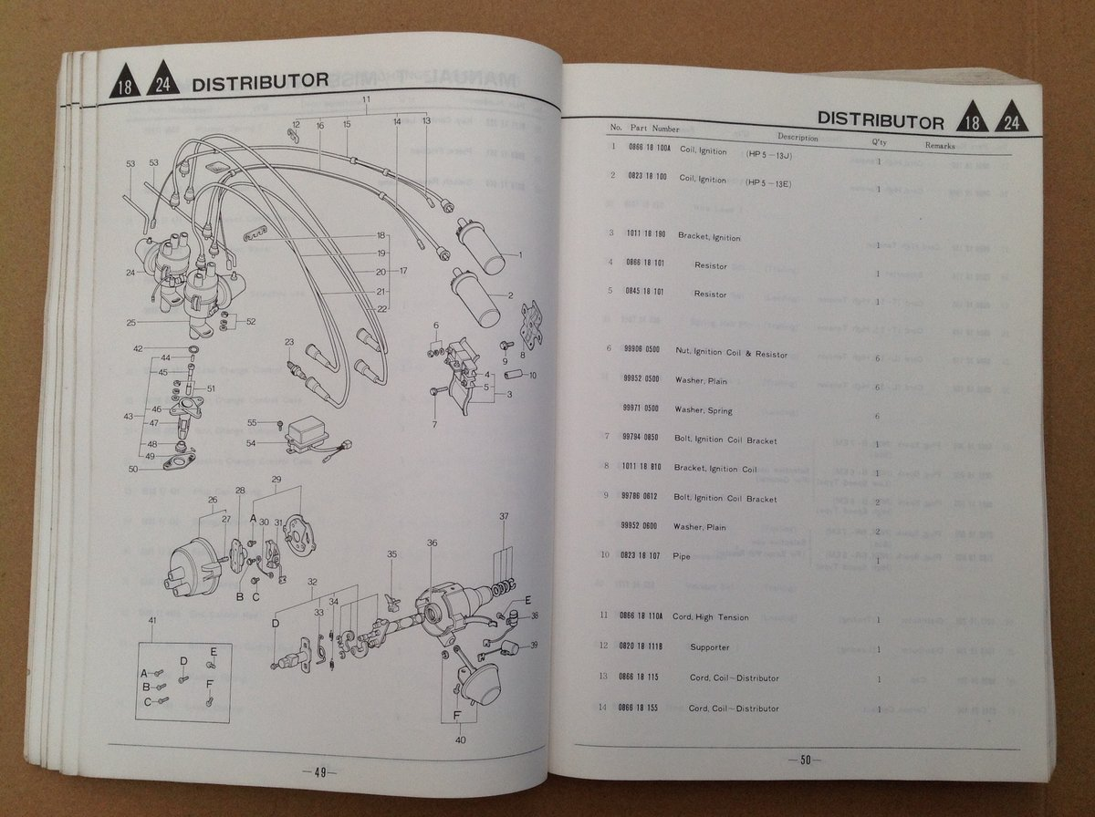Mazda RX4 Parts Catalogue For Sale (picture 4 of 6)