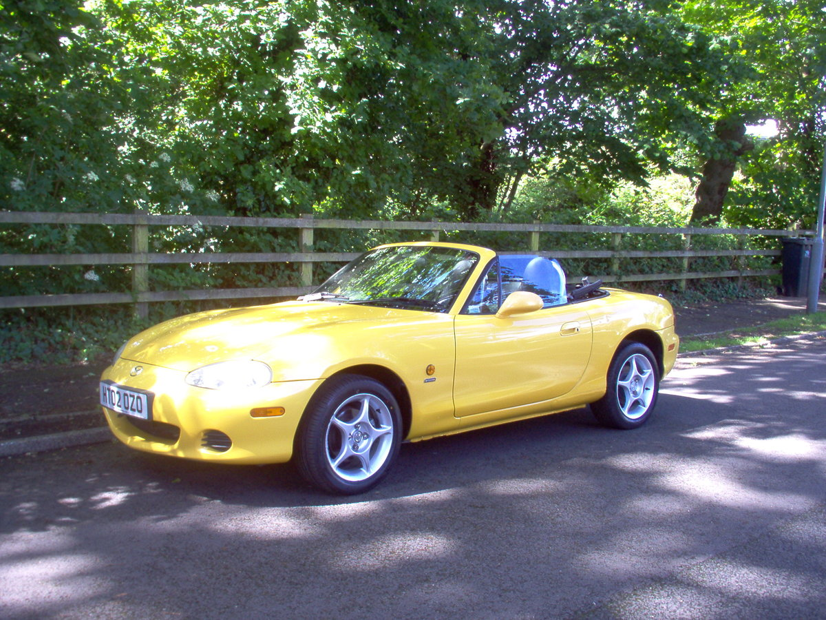 2002 MX-5 Soft-top special edition For Sale (picture 1 of 6)