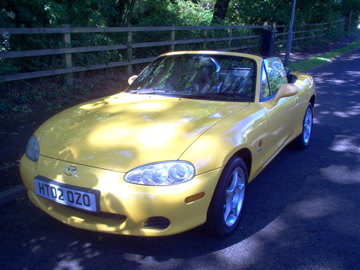 2002 MX-5 Soft-top special edition For Sale (picture 6 of 6)