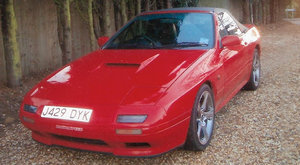 1992 MAZDA RX-7 TURBO CONVERTIBLE For Sale by Auction