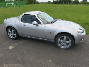 2008 Mazda MX5 Six speed tiptronic auto