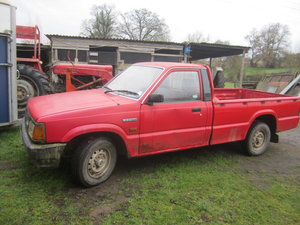 1988 Mazda B2200 lwb pickup diesel towbar For Sale