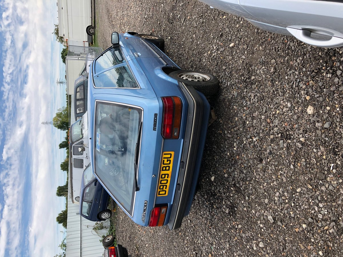1986 Mazda 323 2 door Super Rare little jap Rust free . For Sale (picture 3 of 5)