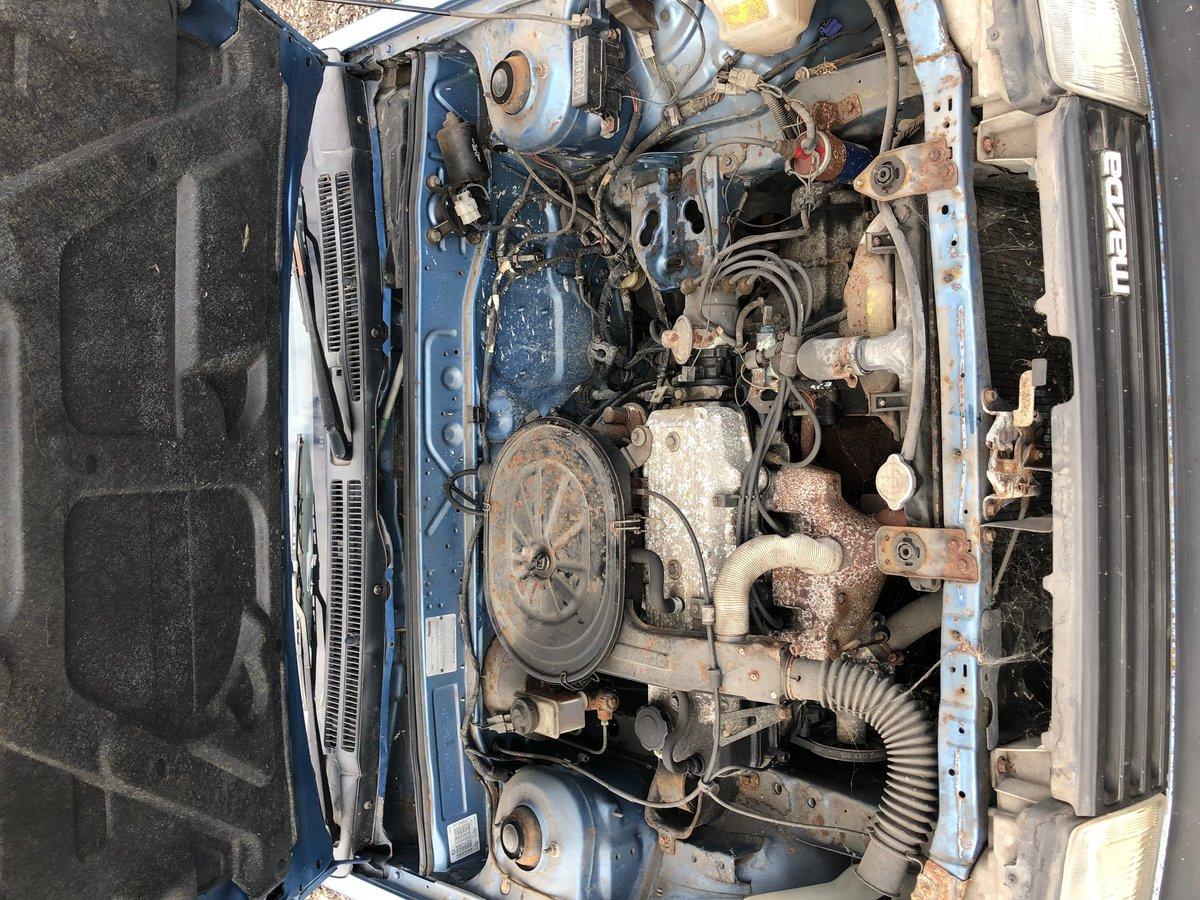 1986 Mazda 323 2 door Super Rare little jap Rust free . For Sale (picture 5 of 5)