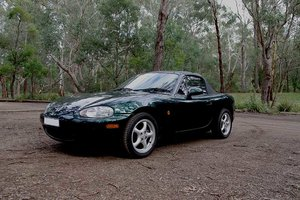 1999 NB MX5 with genuine 64,000 kilometres Immaculate  For Sale