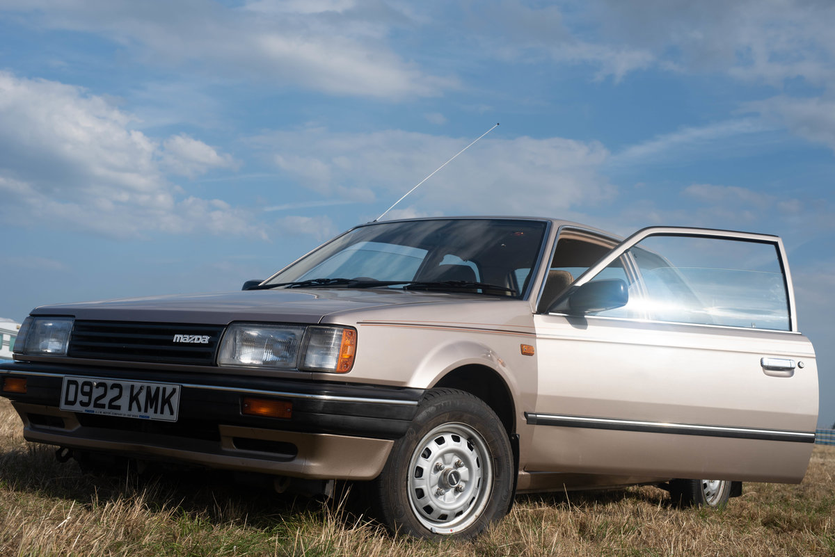 1987 Mazda 323 LX [29,600 Miles] For Sale (picture 1 of 6)