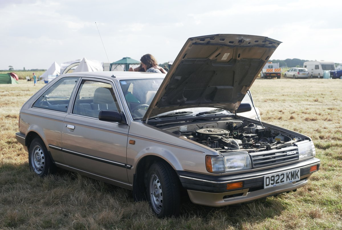 1987 Mazda 323 LX [29,600 Miles] For Sale (picture 6 of 6)