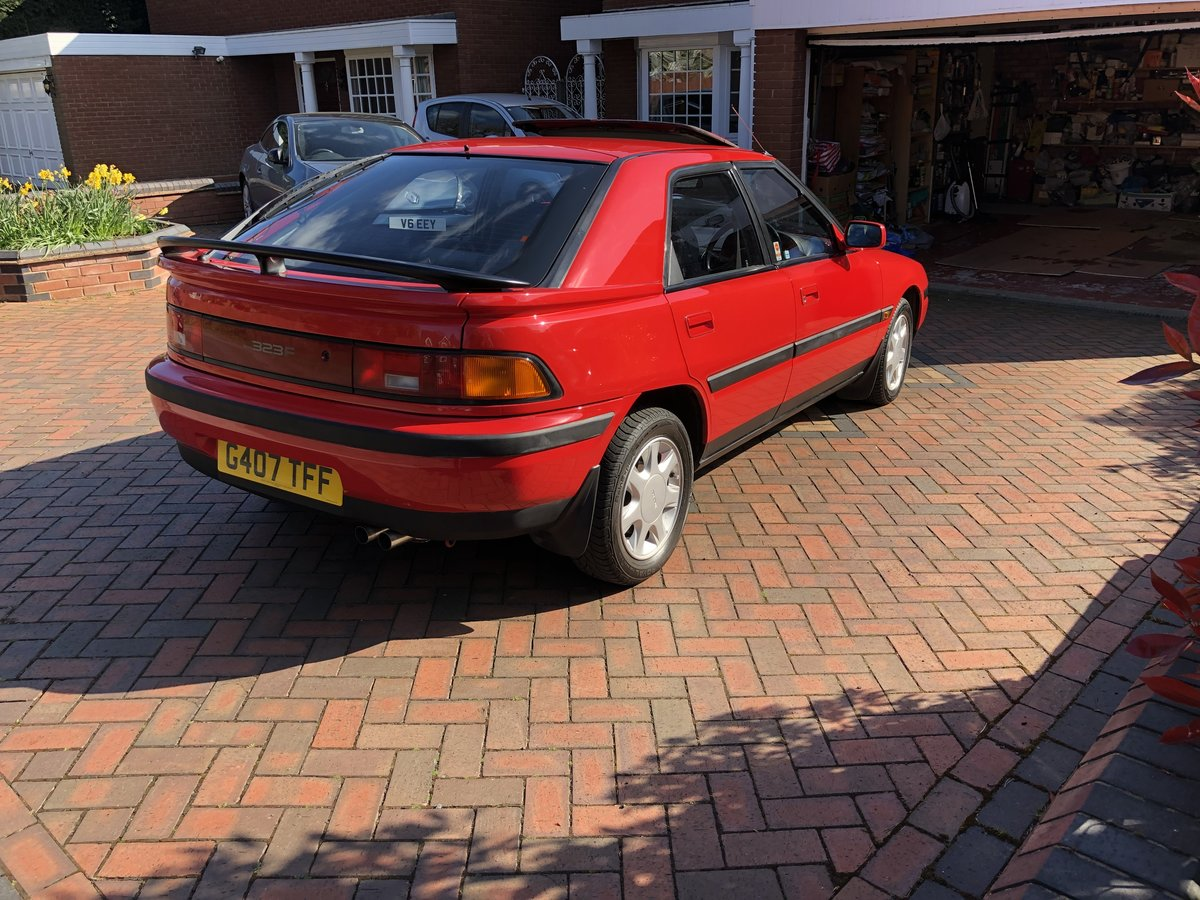 1990 Mazda 323f gti Immaculate and rare  For Sale (picture 6 of 6)