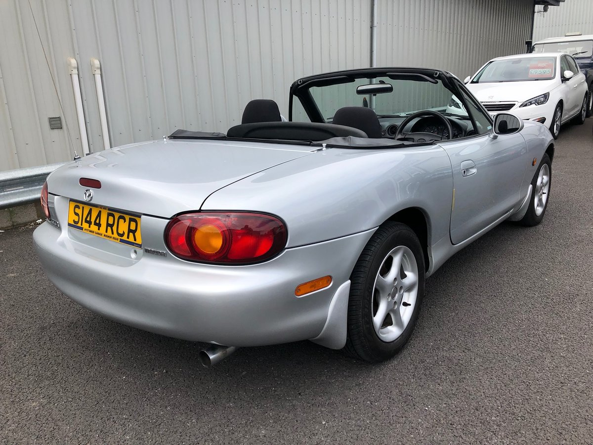 1998 S MAZDA MX-5 MK2 1.6 109 BHP MANUAL SOLD (picture 3 of 6)
