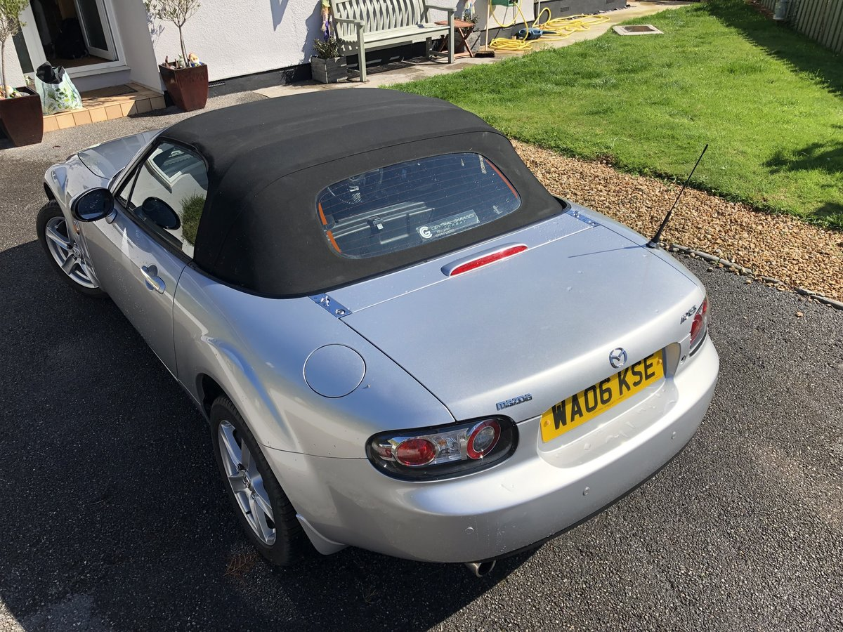 2006 Mazda MX5 1.8 low miles mint condition For Sale (picture 2 of 6)