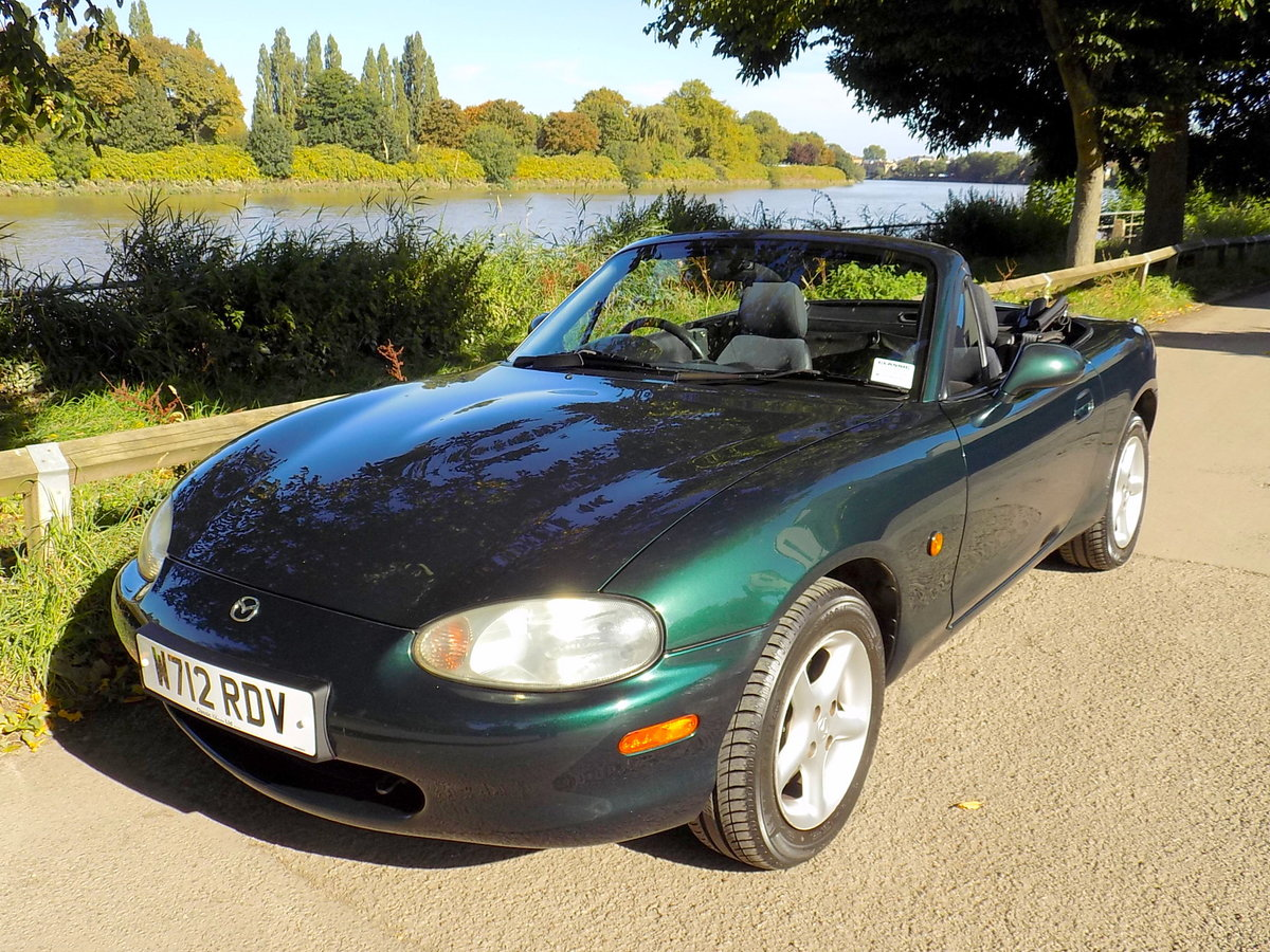 2000 MAZDA MX5 SPORTS CONVERTIBLE WITH HARD & SOFT TOPS For Sale (picture 6 of 6)