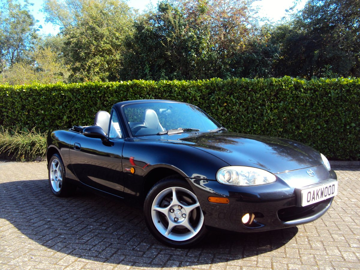 2005 A STUNNING Low Mileage Mazda MX-5 1.8i ICON **37,000 MILES** For Sale (picture 1 of 6)