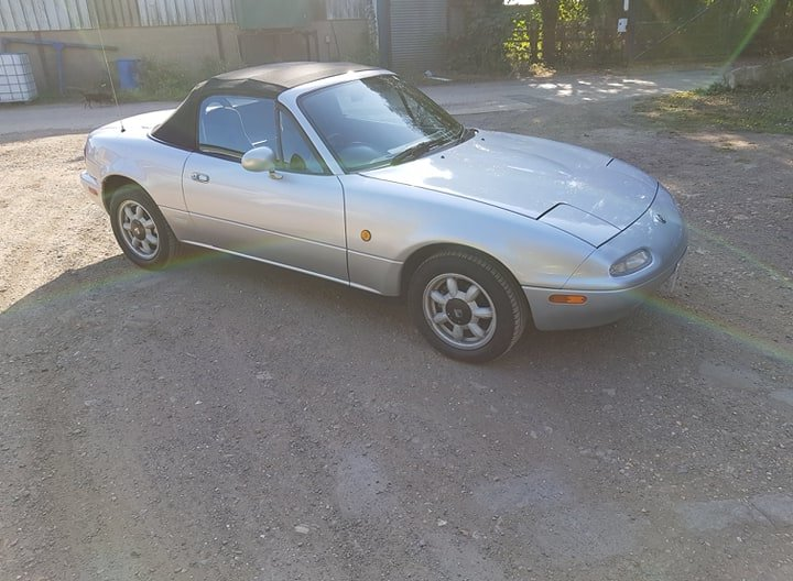 Mazda MX5 Eunos 1.6L 1991 For Sale (picture 1 of 6)