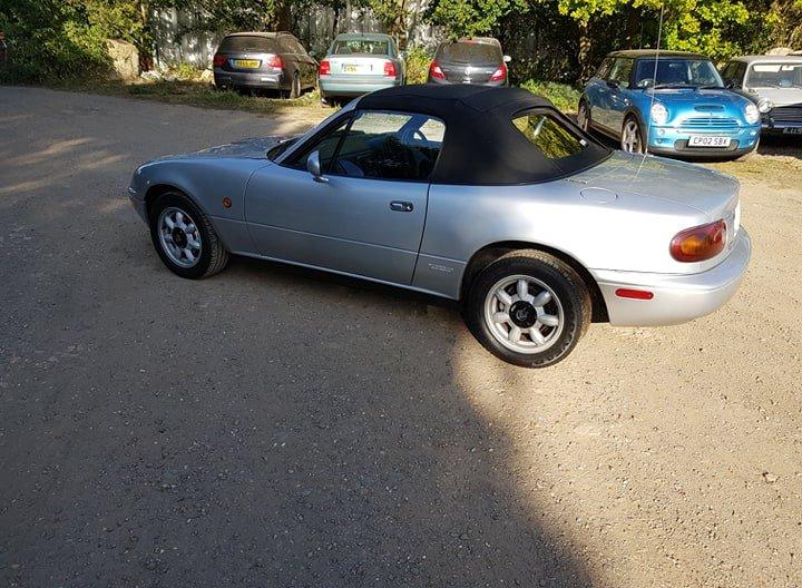 Mazda MX5 Eunos 1.6L 1991 For Sale (picture 4 of 6)