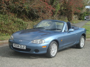 2004 Mazda MX5 1.8i Arctic. .Low mileage.29000 miles.