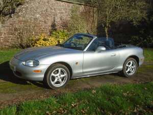 2000 Mazda MX-5 Low Mileage, 3 owners, UK Car