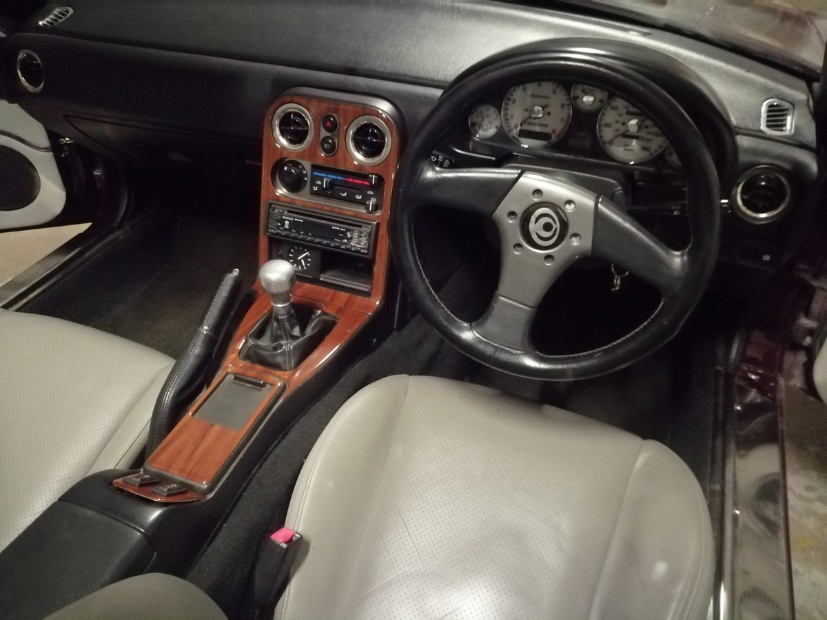 1996 Mazda MX-5 Merlot. In lovely condition throughout For Sale (picture 6 of 6)