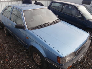 1986 Mazda 323 2 door, 20 year garage find,super solid