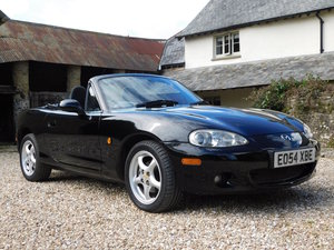2004 Mazda MX-5 1.8i - Mk2, low mileage, excellent condition SOLD