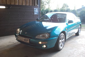 1997 Mazda MX3 1.6 dohc auto - one owner - 39,000 miles For Sale