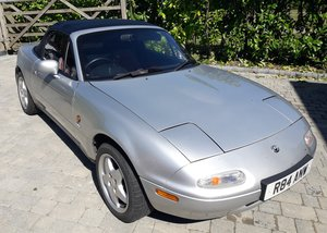 1997 Very low mileage Mazda MX5 Harvard Limited Edition For Sale