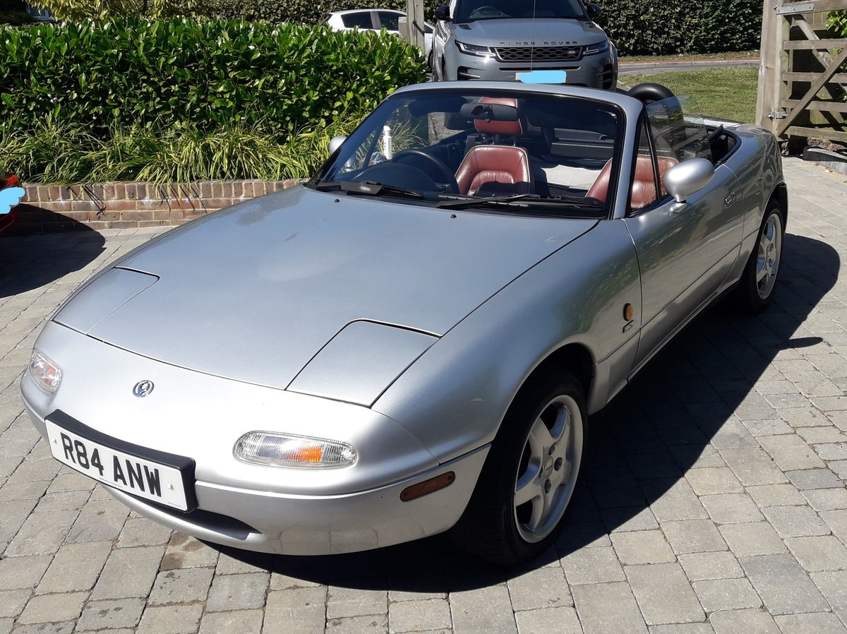 1997 Very low mileage Mazda MX5 Harvard Limited Edition For Sale (picture 2 of 6)