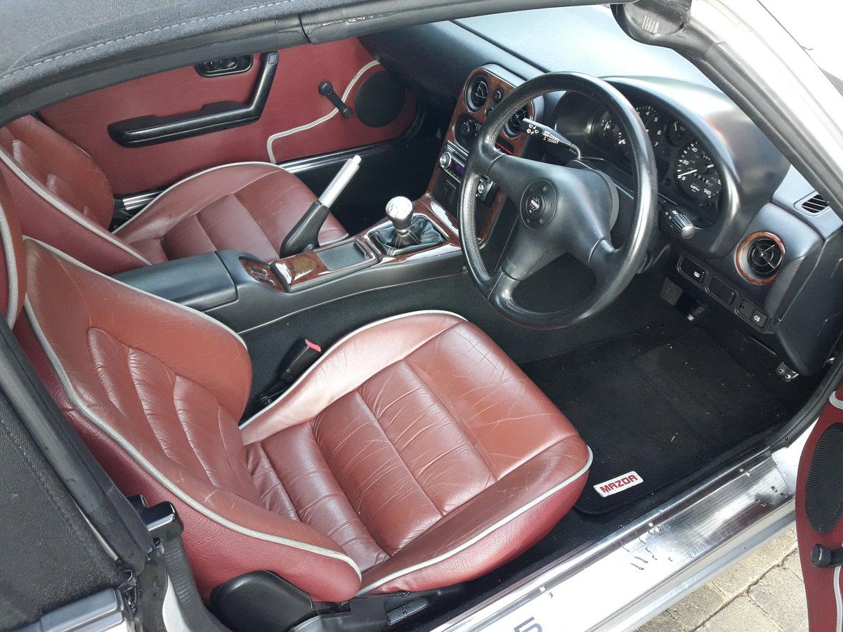 1997 Low mileage Mazda MX5 Mk1 1.8i Harvard For Sale (picture 5 of 6)